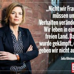 JULIA KLÖCKNER FOR BILD